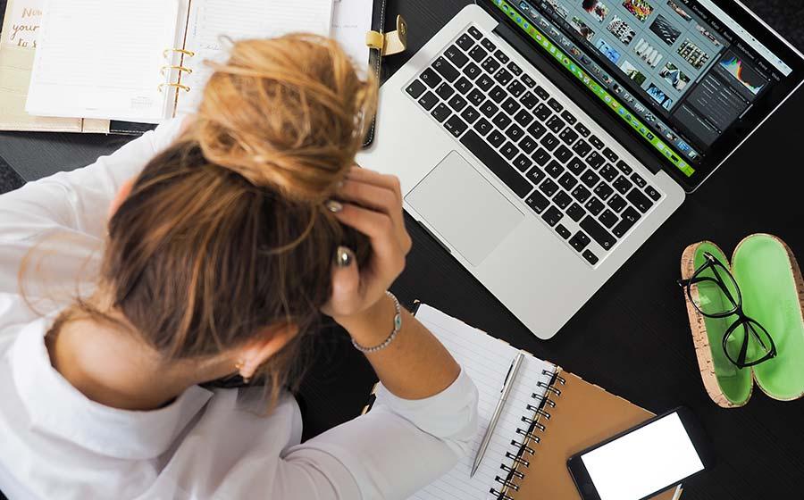 perguntas sobre estresse