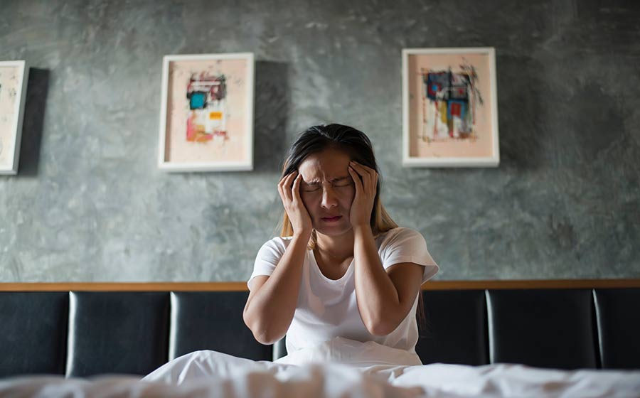 tipos de distúrbios do sono